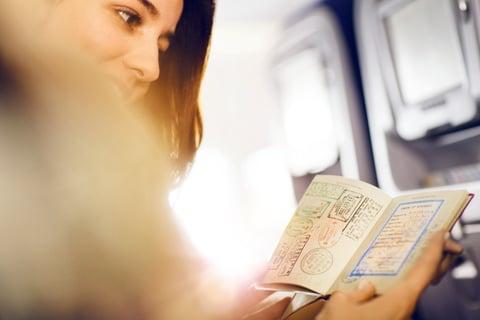 pianificazione viaggio d'affari - passaporto