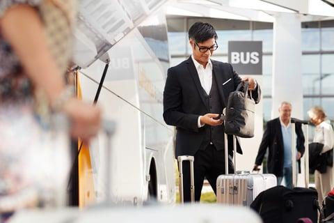 viaggi d'affari valigia