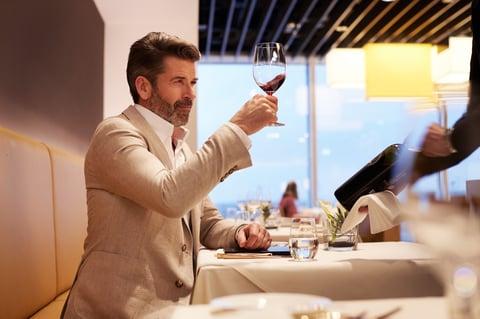 esportare vino