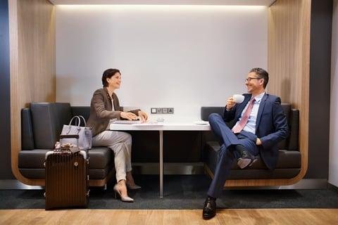 viaggi d'affari - lounge aeroportuali