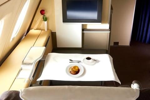 organizzazione viaggi aziendali pasti a bordo